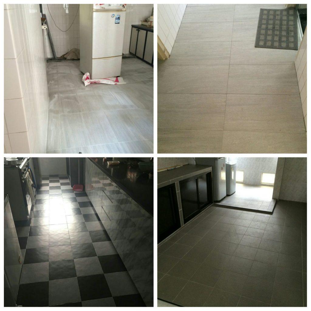 Kitchen Wall Floor Tiling
